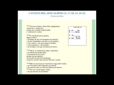 Salmodia Camino Neocatecumenal 16