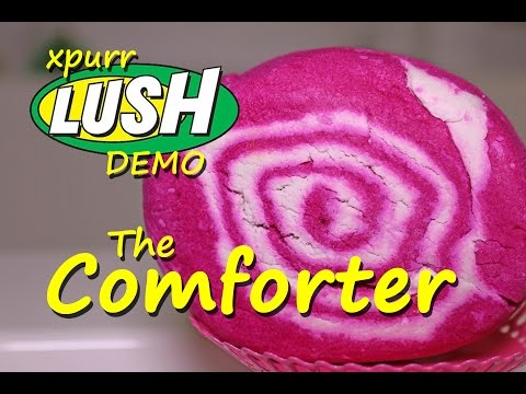 Lush The Comforter Bubble Bar Demo Review