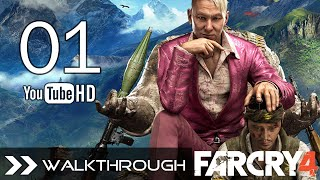 Far Cry 4 Walkthrough Gameplay - Part 1 (Mission 1 - Bell Tower) HD 1080p No Commentary
