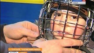 Молодые хоккеисты из Газ-Сале переодеваются в новую форму за два миллиона рублей