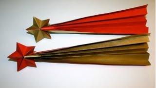 Origami - Etoile filante [Senbazuru]