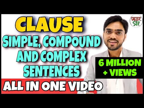 Simple Compound and Complex Sentences | English Grammar Lessons | Clauses in English Grammar