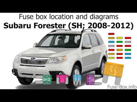 2008 Subaru Forester Fuse Box - Wiring Diagrams
