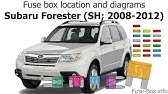 2011 subaru outback fuse diagram fuse box location and diagrams subaru outback  2010 2014  youtube  fuse box location and diagrams subaru