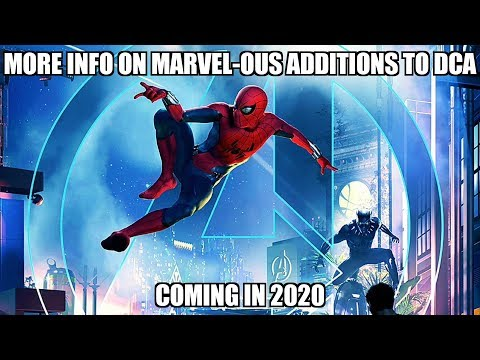 Marvel-ous Additions coming to Disney California Adventure in 2020