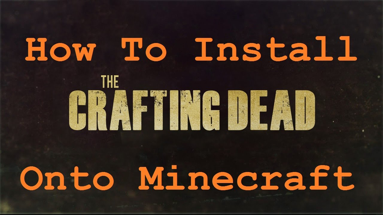 How To Install Crafting Dead Technic