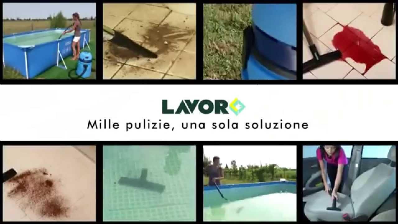 Aspiratore per piscine lavor swimmy 3 in 1 aspiraliquidi e aspirapolvere youtube - Aspirapolvere per piscina ...