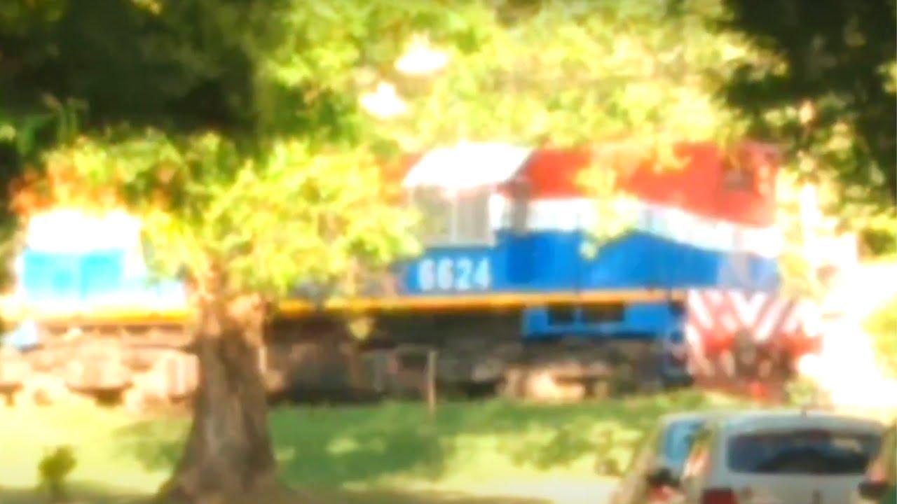 Tren pedrero de NCA rumbo a Patio Parada.