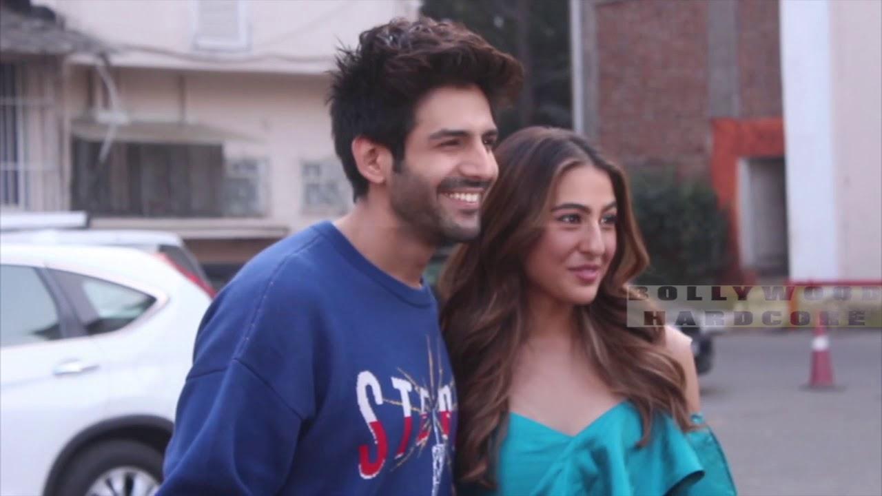 Kartik Aryan and Sara Ali Khan Along are in Love ?