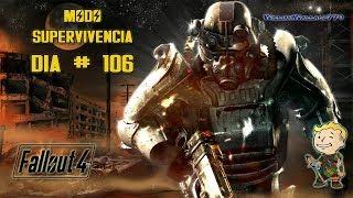 ♠ Fallout 4   Misión Principal   Cazador Cazado   El Nivel Molecular 1/2  En Español    Día 106