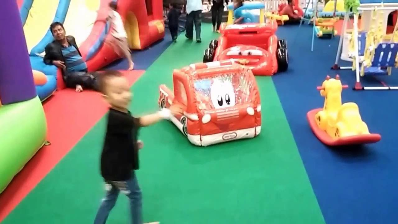 Tempat Bermain Anak Indoor Playground Di Giant Pasteur Bandung