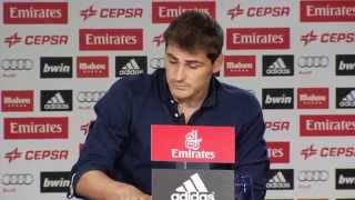 Emotional Speech of Iker Casillas ahead of move to Porto