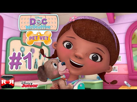 doc-mcstuffins-pet-vet-(by-disney)---ios-/-android---gameplay-video-part-1