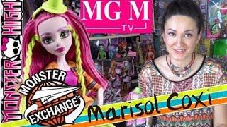 Марисоль [Marisol Coxi] Monster Exchange Монстры по обмену Monster High обзор на русском MGM