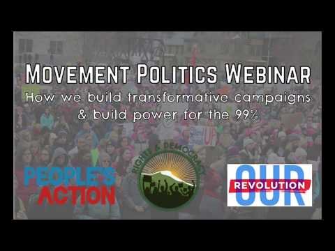 Movement Politics: From Protest to Power (full video)