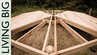 DIY Deck Platform For A Belle Tent (Or A Yurt) thumbnail