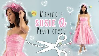 "DIY ""Susie Q"" Prom Dress 