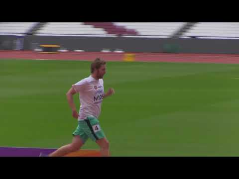 800 m Media race at the IAAF World Championships 2017 in London