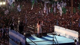 Ultimo discurso del segundo período de Cristina Kirchner, 10 de diciembre de 2015