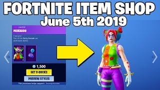 PEEKABOO & NITE NITE Skins are BACK! Fortnite Item Shop June 5th (Fortnite Battle Royale)