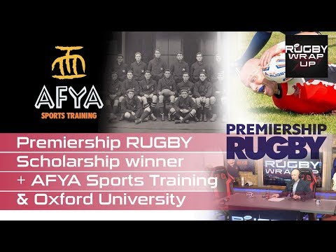 Oxford Coach James Wade & Premiership Rugby/FOBC Scholarship Winner Mark Patterson