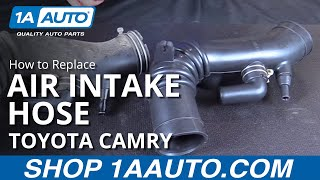 How to Replace Install New Air Intake Hose 1997-99 Toyota Camry