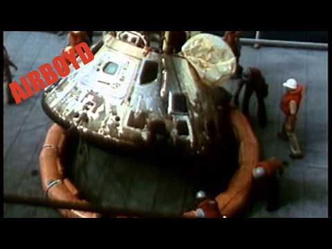 Apollo 11 Spacecraft Retrieval (1969)
