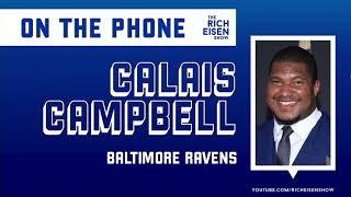 Could We See Ravens DE Calais Campbell Run a 40 for RunRichRun??? | The Rich Eisen Show | 4/1/20