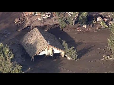 'Apocalyptic' mudslides devastate California