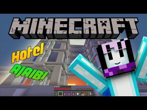 HOTEL AJAIB DI MINECRAFT?! | Minecraft Indonesia BeaconCream S2 #18