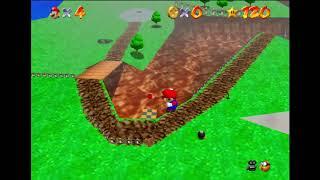 Super Mario 64 TAS Competition 2018: Task 3, My Run