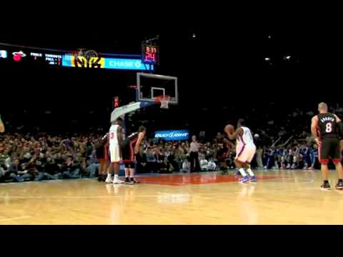 Landry Fields great hustle play vs Heat