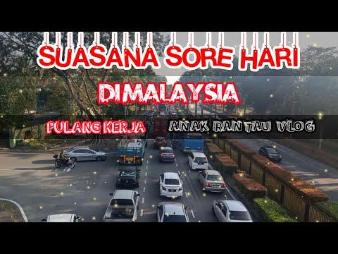 MENYELUSURI JALAN || MENIKMATI INDAH NYA DI SORE HARI || TKI MALAYSIA jalan kaki