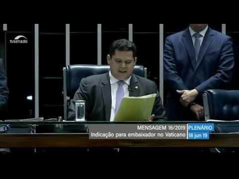 Plenário Sessão Deliberativa Tv Senado Ao Vivo 18 06 2019 Youtube