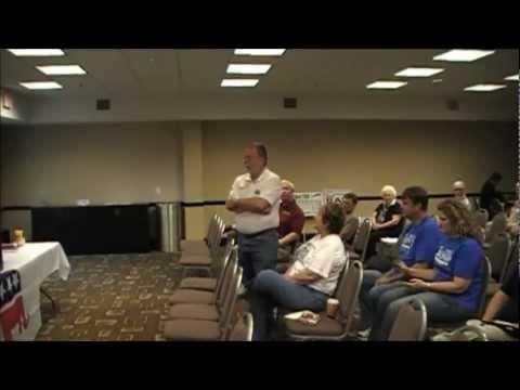 Rockdale Republican Party Meeting Jo Coggins and David Shipp Special Speakers 9 29 2012