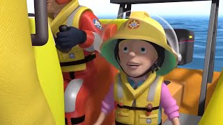 Fireman Sam US | Sarah the Cadet Firefighter | Speed Boat Rescue  🚒 🔥 Kids Movies
