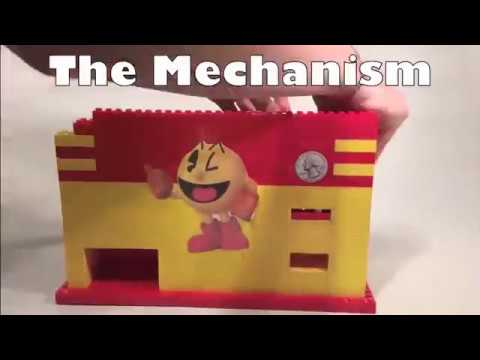 Lego Pacman Candy Machine