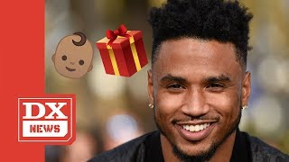Trey Songz Reveals Newborn Baby & His Female Fans Completely Lose It