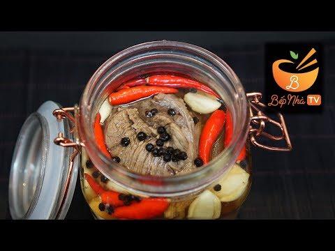 Hướng dẫn làm Thịt Bắp Bò Ngâm Giấm   Vào bếp cùng Bếp Nhà