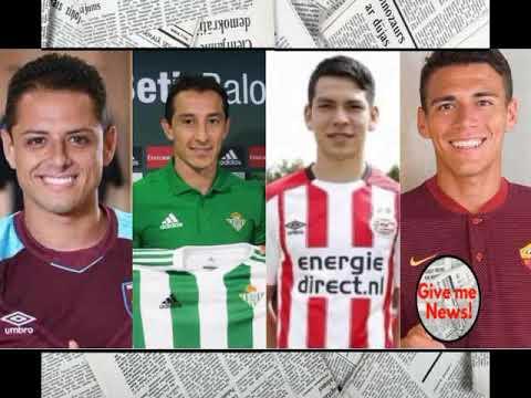 Download El valor de mercado de los jugadores mexicanos más caros en el extranjero!