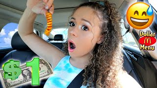 I only spent $1 on FOOD for 24 HOURS! | Krazyrayray