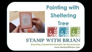 Painting with Sheltering Tree