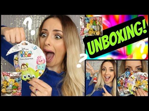 Unboxing Disney MYSTERY TOYS!!!!!