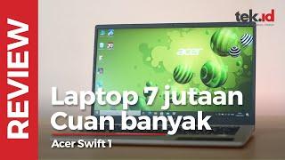 Acer swift 1, paket komplit diharga Rp7 juta