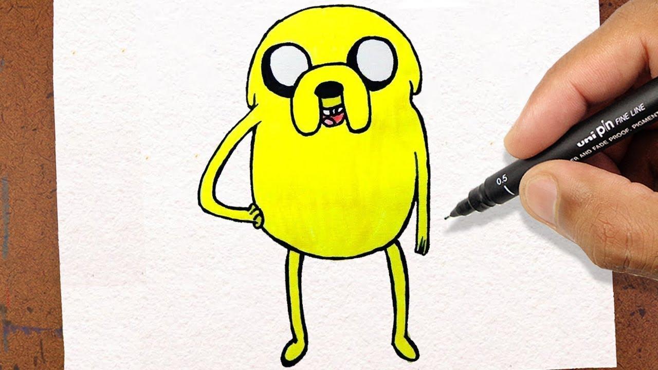 Como desenhar jake hora de aventura how to draw youtube como desenhar jake hora de aventura how to draw thecheapjerseys Images