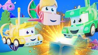 Truck Games - Сокровища пиратов Мультфильмы с грузовиками для детей -