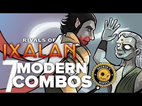 Brewer's Minute: Rivals of Ixalan—Seven Modern Combos