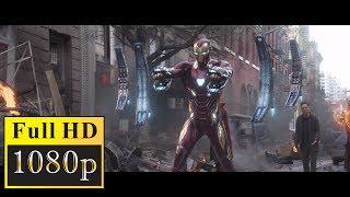 Железный человек и Доктор Стрэндж против Эбони Мо и Кулл Обсидиан. Мстители: Война бесконечности Ч1