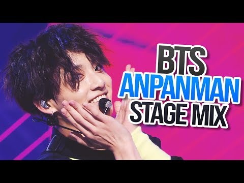 BTS (방탄소년단) - Anpanman 교차편집 (STAGE MIX, 60fps)