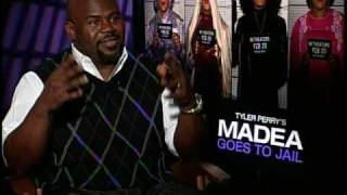 David Mann Interview For Tyler Perry's Madea Goes To Jail